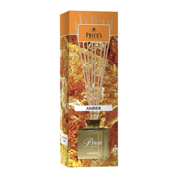 Rákosový difuzér PRICE´S CANDLES Jantar 100ml