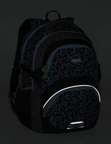 cf733096f Školní batoh BAGMASTER THEORY 9 E green/blue/black - POŠTOVNÉ ZDARMA