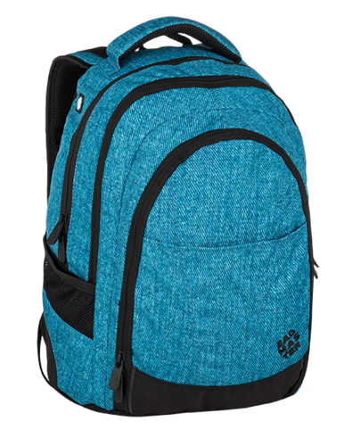e99530e42c Studentský batoh BAGMASTER DIGITAL 9 D blue black - POŠTOVNÉ ZDARMA